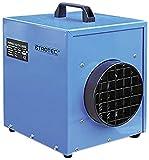 TROTEC Elektroheizer TDE 25 mit 3 kW Heizlüfter Heizgerät Bauheizer mit gehärteter Hammerschlaglackierung