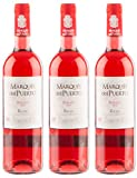 Sander'S Selection Vino Marques Del Puerto Rosado, 3 Bottiglie da 750 ml