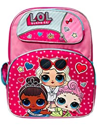 Preisvergleich für Accessory Innovations Company LOL Surprise! 16-inch Large Pink Girl's Backpack