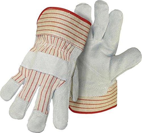 Boss Handschuhe 4092 Large Split Leder Palm Arbeitshandschuh (Boss-split-leder)