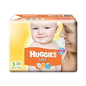 Huggies New Dry Small Size Diapers (36 Counts)