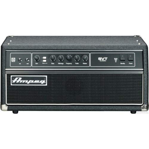 AMPEG svt-cl Bass Head - Hifi-Verstärker (6.35 mm, 50/60 Hz,-12 - 12 DB, 20 - 20000 Hz, Reverse polarity) 300w Mid-bass