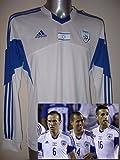 Israel Adidas Erwachsene groß BNWT Neue Fußball Shirt Trikot Radsport Trikot Pullover Maglia langen Ärmeln