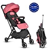 Besrey Compact Lightweight Stroller, Recline Buggy for Airplane Ultra Lightweight Baby Stroller