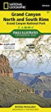 Grand Canyon, North and South Rims [grand Canyon National Park] (Trails Illustrated Map)