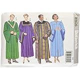 McCall's Patterns Butterick Patterns B5626 - Patrón para túnica y cuello (todas las tallas, 1 unidad), color blanco