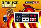 Retro Classic Controller For NES Mini Classic - [Edizione: Regno Unito]