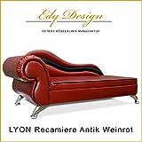 Hundesofa LYON Recamiere XXL Luxus
