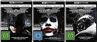 Batman Begins + The Dark Knight + The Dark Knight Rises [4K Ultra HD + 2D Blu-ray Set]