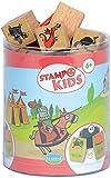 Unbekannt Aladine 3003332 - Stampo Kids Ritter, 16-teilig