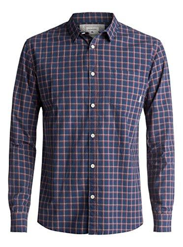 Quiksilver Everyday Check - Long Sleeve Shirt - Langarm-Hemd - Männer (Quiksilver Herren Hemd)
