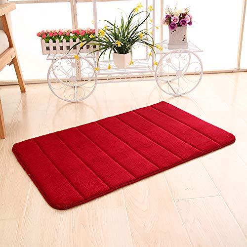 v Teppich Pastell Kollektion | Flauschige Flachflor Teppiche fürs Wohnzimmer, Esszimmer, Schlafzimmer oder Kinderzimmer | Einfarbig, Schadstoffgeprüft -