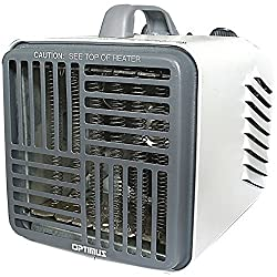 Optimus H-3001 Mini Compact Utility Heater with Thermostat