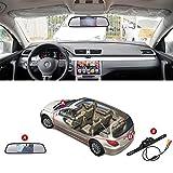 Retrovisore auto retrovisore dello specchio dell'affissione a cristalli liquidi Monitor Video Player con schermo da 4.3 pollici HD IR impermeabile visione notturna per l'assistenza sensore