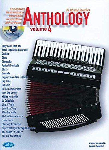Anthology (Accordion), Volume 4: Anthology (by Cappellari) (Anthology (Cappellari))