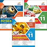 Combo 10 in One Study Package for CBSE Physics, Chemistry & Mathematics Class 11 with 9 Sample Papers