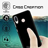 """Back Cover For ZenFone Max Pro M1, Case Creation (TM) 0.3mm Ultra Clear Thin Soft Silicone TPU Silicone Flexible Black Silicone Back Case Cover For ZenFone Max Pro M1 / Asus Zenfone Max Pro (M1) ZB601KL 5.99""""inch (New Launch 2018)(Vintage Black Print"""