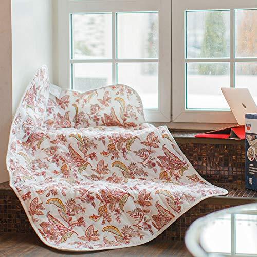 Heizdecke EINEN Prämie Komfort Doppelt EcoSapiens Baumwolle Japanisch Kohlensäure Faser 100{f5bbd631e4a8f37348a34293d0995296023b9c472744ed83b9ec17fb97adb0cb} sicher dauerhaft Elektroblech 150 x 90 cm