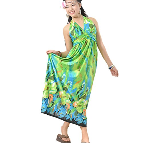QIYUN.Z - Robe De Chambre Femme Vert