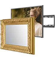 Handmade Framed Mirror TV with Panasonic XYZ to Blend this Hidden Mirrored Television into Your Home or Business Decor