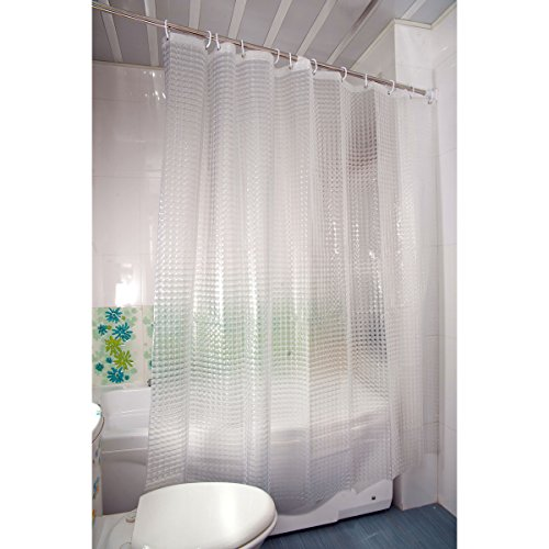 Duschy cortina de ducha 3D transparente