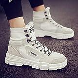 ZyuQ Stivali da uomo Autumn Men s Shoes Social Spirit Martin Boots Short  Boots Men s High Help 12d0f38ee78