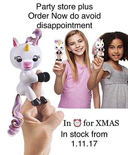 InterActive Baby Unicorn, Wow Wee Pet elettronico Baby Unicorn Gigi Talking giocattoli, giocattolo per bambini, 15x 5.2x 22.5cm, Gbell, Multicolor