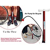 Lista High Pressure Deluxe/Strong Steel Air Pump for Bicycle, Car, Ball, Motorcycle - Inflatable Air Pump   Floor Air Pumps