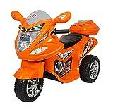 #6: Hlx-Nmc Battery Operated Fun Bike Orange
