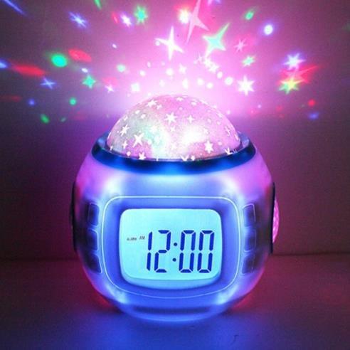 Generic Music Star Sky Digital Clock Led Projector Alarm Clock ...