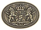 Trachten Gürtelschnalle Wappen Bayern Gürtelschließe Gürtel Wechsel Schliesse Messingfarben Geburtstag Geschenk