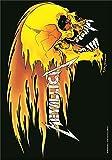 Metallica,Skull & Flames, Fahne