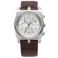 Just Cavalli P635.03JUX - Reloj analógico de caballero de cuarzo con correa de piel marrón de Just Cavalli
