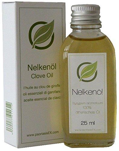 Aceite esencial de clavo, 25 ml de calidad suprema