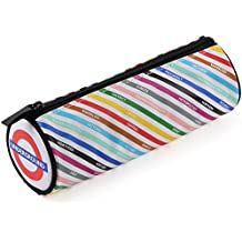 All Change London tube lines barrel pencil case