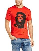 Che Guevara Herren T-Shirt CHE GUEVARA - RED FACE