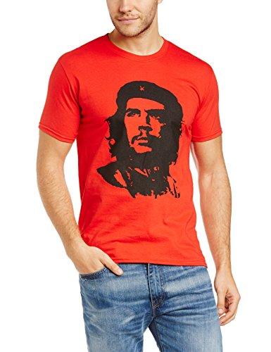 Che-Guevara-Herren-T-Shirt-CHE-GUEVARA-RED-FACE