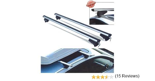 PICK-UP barre da tetto 120 cm per auto con railing integrati