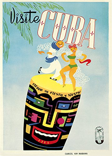 Con imagen Vintage de viaje 250gsm cuadro decorativo brillante A3 de póster