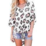 ESAILQ Damen Pailletten Shirt Träger Top Weste Top Oberteil Ärmellos T-Shirt Tanktop Blouse(L,Weiß)