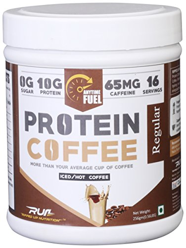 Ripped Up Nutrition Protein Coffee Regular - 256 Grams