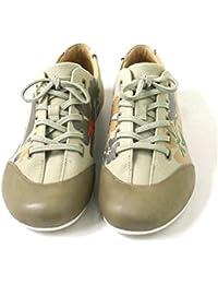 CAMPER K200374-001 - Zapatos de cordones de tela para mujer beige Beige (oilylusion cong/mien cong/senda pau)