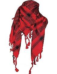 Palästinenser Tuch Schal - Rot Schwarz