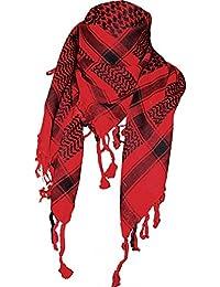 Doktor Hardstuff Women's Scarf Red Rot & Schwarz