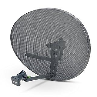 Sky Satellites Zone 2 Satellite Dish & Quad Lnb for Sky / FreeSat / Hotbird / Astra/ Polesat