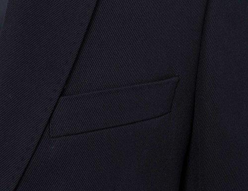 STRENESSE Messieurs Veston Collection d'hiver bleu foncé