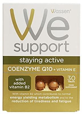 Coenzyme Q10 + Vitamin E (30 Tablets) - x 3 Pack Savers Deal