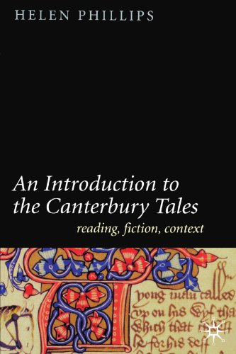 An Introduction To The Canterbury Tales Reading Fiction Context