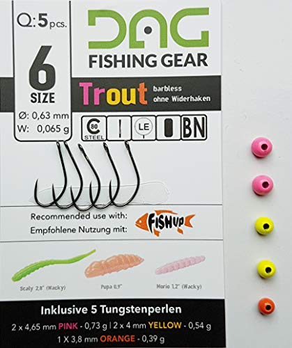 2d5ca1eea9f8 pro-bite Tungsten E GANCIO della ditta fishup con oehr nella taglia 6