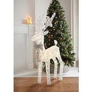 Impresionante reno de Navidad con